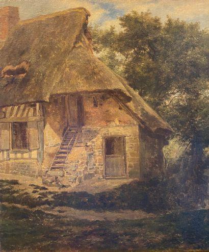 Johann Gustav GRUNEWALD (1805-1878) (attribué...