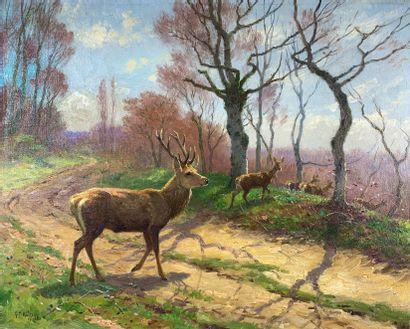 Georges Frédéric ROTIG (1873-1961)  Harde...