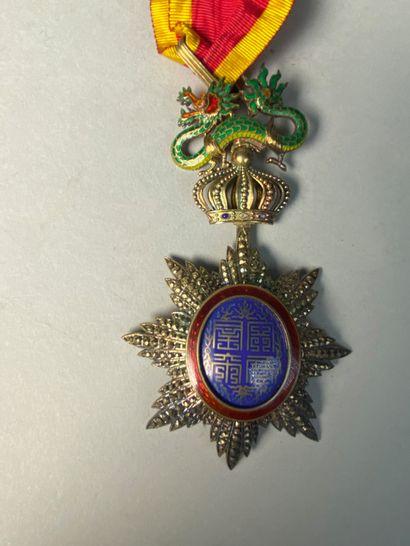Médaille de l'ordre du Dragon d'Annam en...
