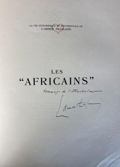 Pierre MAC-ORLAND et Edmond LAJOUX, Les Africains, Paris, Guilhot éditeur.  Edition...