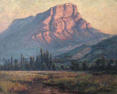 Jean Marius BUGNARD (1880-1947)  Le mont...