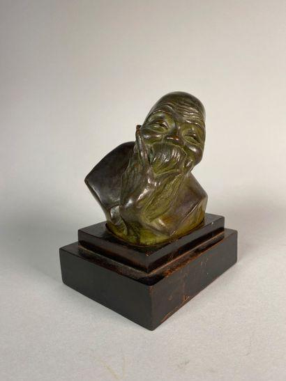 Gaston HAUCHECORNE (1880-1945)  Lettré chinois...