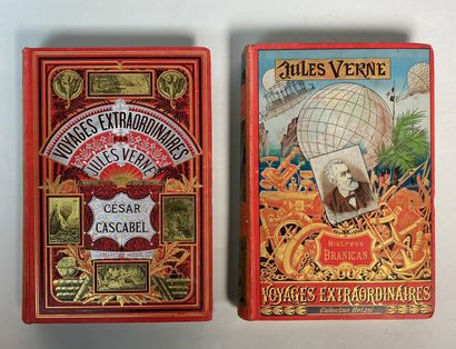 Jules VERNE, Voyages extraordinaires, collection...