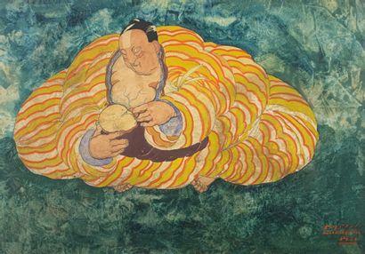 Mariette LYDIS (1894-1970)  Maternité, 1921....