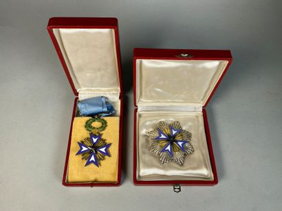 Deux médailles de l'ordre de l'étoile noire....