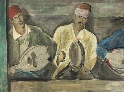 Étienne BOUCHAUD (1898-1989)  Musiciens à...