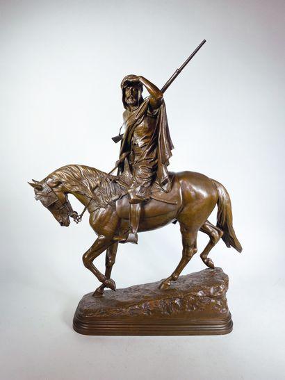 Isidore Jules BONHEUR (1827-1901)  Cavalier...
