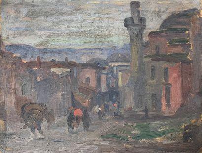 Charles FOUQUERAY (1869-1956)  Alentours...