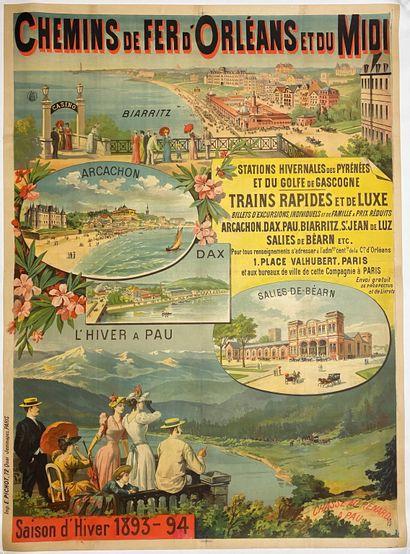 Chemins de fer d'Orléans et du midi, saison...