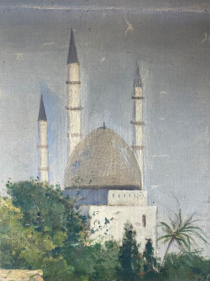 Ecole orientaliste du Xxe siècle  Mosquée...