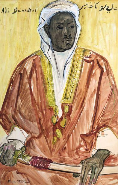 Elisabeth FAURE (1906-1964)  Portrait d'