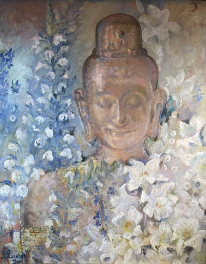 Suzanne Raphäelle LAGNEAU (1890-?)  Bouddha...