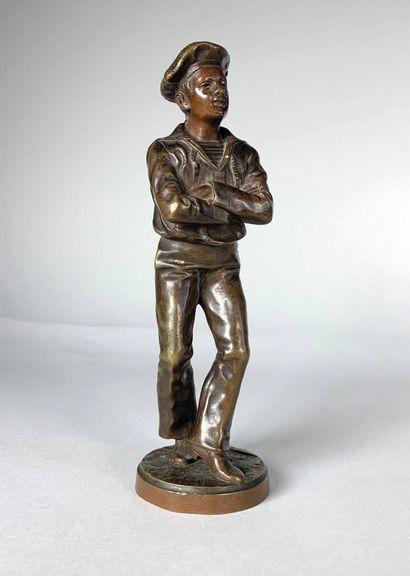 Jean GARNIER (1853-c.1910)  Le marin danseur....