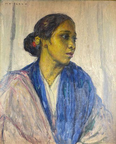 Alfred MOITROUX (1886-1938)  La belle Malaise....