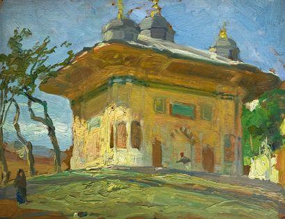 André LAGRANGE (1889-1958)  Le mausolée turc....