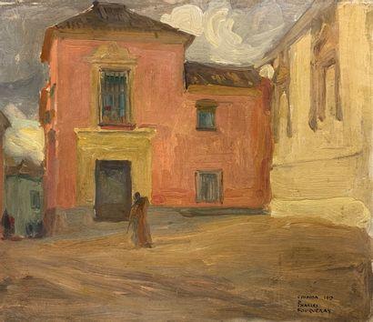 Charles FOUQUERAY (1869-1956)  Vue de Cordoue,...