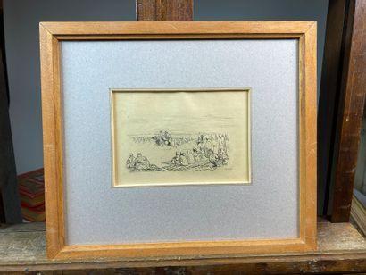 Jacques SIMON (1875-1965)  Paysages et scènes...