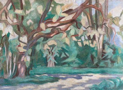 HAUVILLE-BAUDOUIN (XXe siècle)  Jardins à...