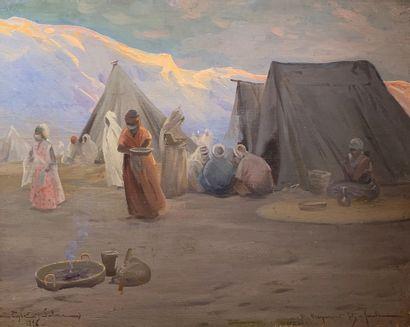 Xavier DESPARMET-FITZ-GERALD (1861-1941)...