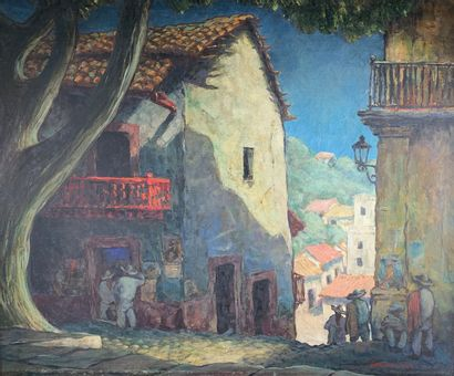 George Waller PARKER (1888-1957)  Mexican...