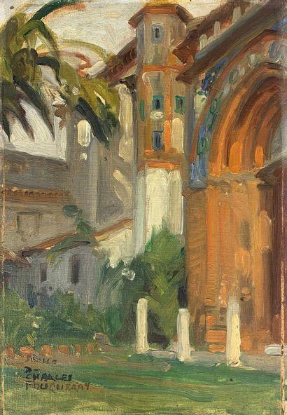 Charles FOUQUERAY (1869-1956)  Plaza de America...