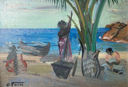 Elisabeth FAURE (1906-1964)  Activités quotidiennes...