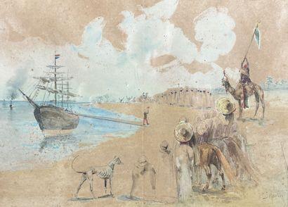 Capitaine J. MARTIN (XIXe siècle)