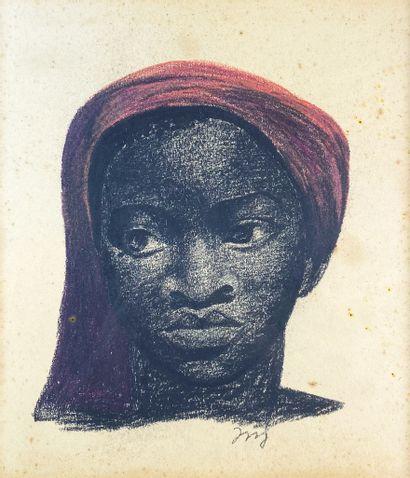 Floris JESPERS (1889-1965)  Portrait de femme...