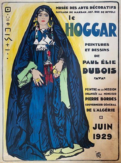 Paul Elie DUBOIS (1886-1949)  Le Hoggar,...