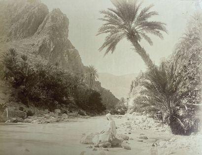 Lot de quinze photographies sur l'Algérie...