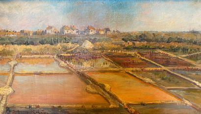 Ambroise RAKOTO (XXe siècle)  Paysage de...