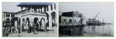 Deux albums vers 1904 de photographies l'un...