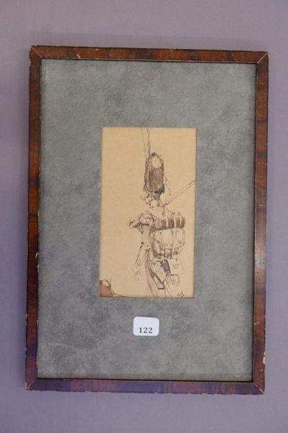 Édouard DETAILLE (1848 - 1912). Grenadier....