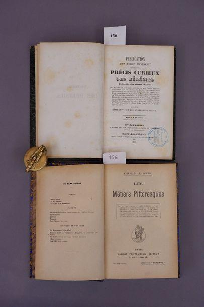Lot de deux livres :    - Charles Le GOFFIC....