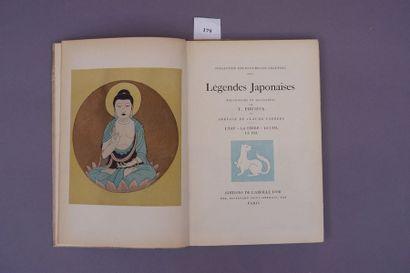 LEGENDES JAPONAISES. Illustrées par FOUJITA....