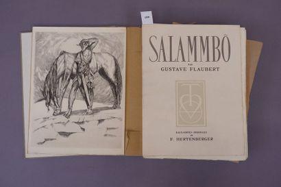SALAMBO, G. FLAUBERT, Eaux fortes de F. HERTENBERGER....