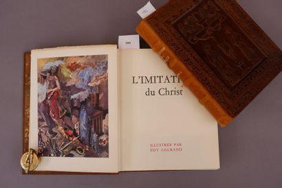 L'imitation du Christ. Volume I et II. 1957....