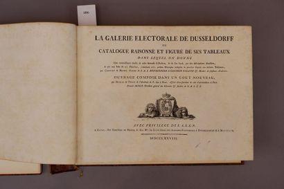 La galerie électorale de Düsseldorf ou catalogue...
