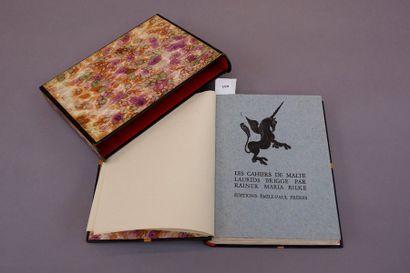 Rainer Maria RILKE. Les cahiers de Malte....