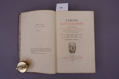 DR JACOBUS X. L'amour aux colonies. Edition...