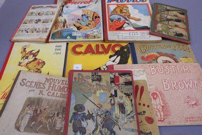Ensemble de livres d'enfants et bandes dessinées...