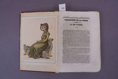 MODE. Recueil de la revue La Mode. 1840....