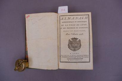 /497 ALMANACH Astronomique et historique...