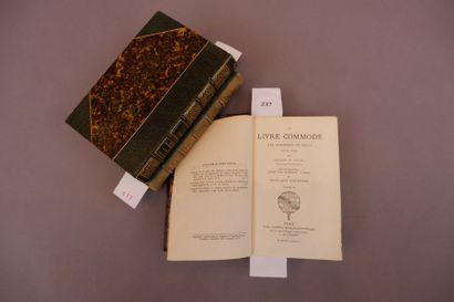 /497 Abraham DU PRADEL. Le Livre commode...