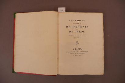 /497 LONGUS. Les Amours pastorales de Daphnis...