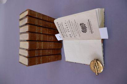 Maximilien de Béthune, duc de SULLY. Mémoires. Londres (Paris), 1745. 8 volumes...