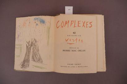 Marcel VERTÈS. Complexes. Préface de Pierre...