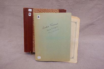 Deux albums°/*/** France Marques Postales...