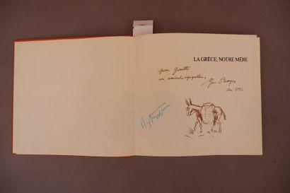 Roger Peyrefitte et Yves Brayer. La Grèce notre mère. Editions Michèle trnckvel,...