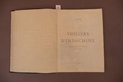 J.B. PIETRI. Voiliers d'Indochine.    In-folio...